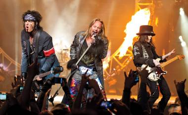 Mötley Crüe returns to the Hard Rock Hotel to perform Wednesdays, Fridays, Saturdays and Sundays from September 18 through October 6.