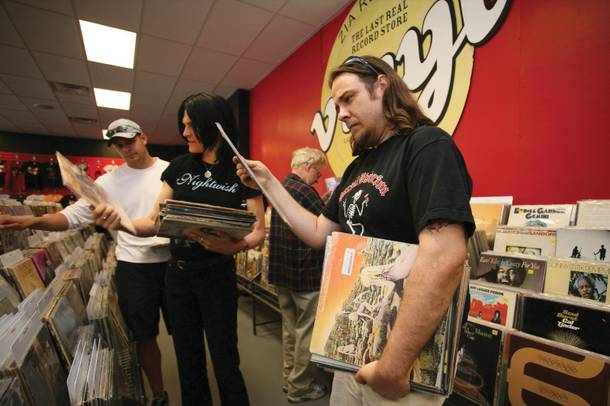 Never enough: Bring music to trade for vinyl at Zia.