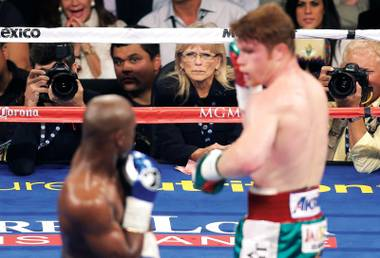 Boxing fans on social media thought they could do better than C.J. Ross during the Mayweather/Canelo fight. But would they want to?
