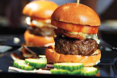 Annual All-Star Weekend event serves up a poolside slider feast, among other foodie fun.