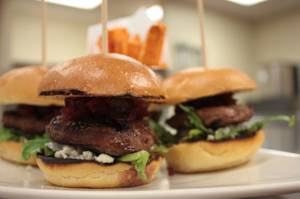 Look for chef Gil Morales' sliders this Saturday at the Las Vegas Wine & Food Festival.