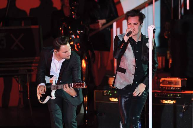 Panic! At the Disco returned home for a Las Vegas show at the Boulevard Pool Friday night.