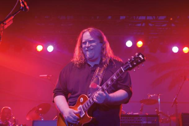 Warren Haynes and Gov't Mule hit Las Vegas this weekend.