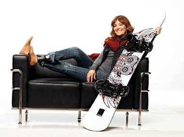 Amy Purdy was 19 when bacterial meningitis attacked her system, leaving her on life support with a 2 percent chance of survival. Seven months later, she was back on her snowboard.