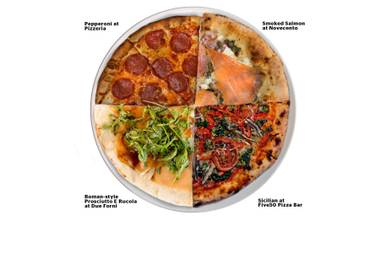 Come on, take a closer look at our Frankenpizza …