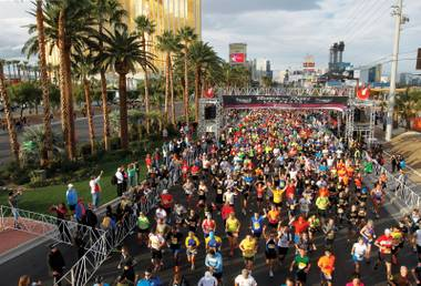 Some of this weekend's Rock 'n' Roll Las Vegas Marathon and Half Marathon participants will be running their second of the day.