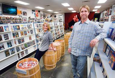 A Henderson-based movie rental store, Movies & Candy, is out to prove they can.