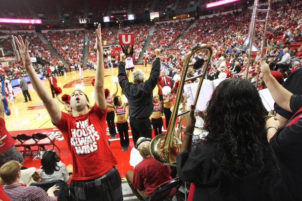 The Runnin' Rebel Pep Band plays for each Runnin' Rebels home game, at Lady Rebels home games (unless a conflict with the men's schedule arises) and for special UNLV events, such as the unveiling of the Tarkanian statue this fall.
