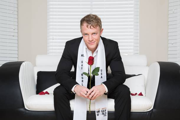 Matt Simmons, Mr. Gay World USA