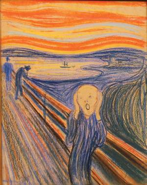"Edvard Munch's ""The Scream."""