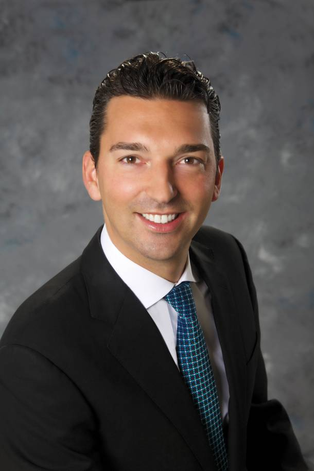 Sebastien Silvestri, vice president of food and beverage at the Venetian and Palazzo.