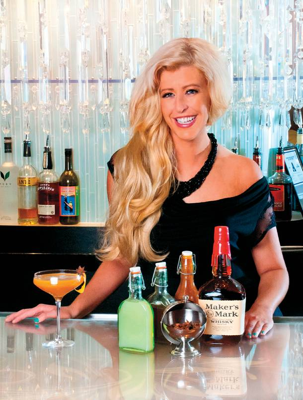 Cosmopolitan mixologist Mariena Mercer has concocted a new menu for the expanded Bond bar.