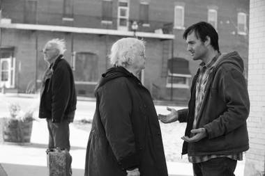 Shot in stark black and white, Nebraska is the first Payne film he hasn't co-written himself.
