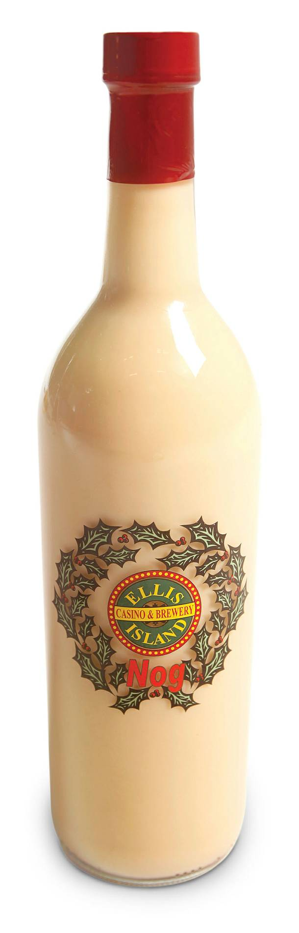 Ellis Island eggnog photographed Monday, December 19, 2011.