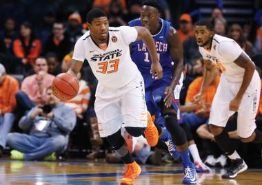 See Oklahoma State star guard Marcus Smart in the MGM Grand Showcase December 21.