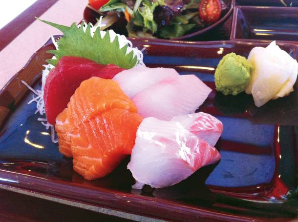 Soho's sashimi is supreme, from the rainbow of fishy flavors in the lunchtime bento box to the strips of yellowtail in yuzu soy.