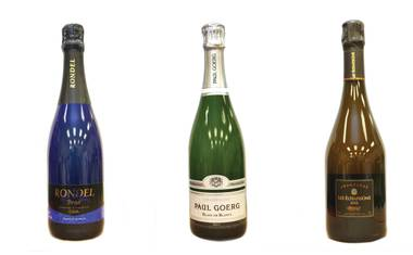 A brut bubbly for every budget, so you can end 2013 with a clean, dry snap.