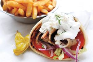 The Great Greek serves Jim Begley's favorite gyro in town.