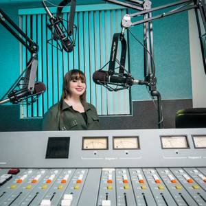 The 16-year-old student and actress is taking on radio and fighting bullying.