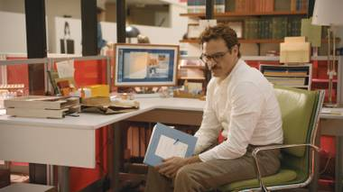 Theodore Twombly (Joaquin Phoenix) isn't expecting to find love when he purchases the latest tech marvel.