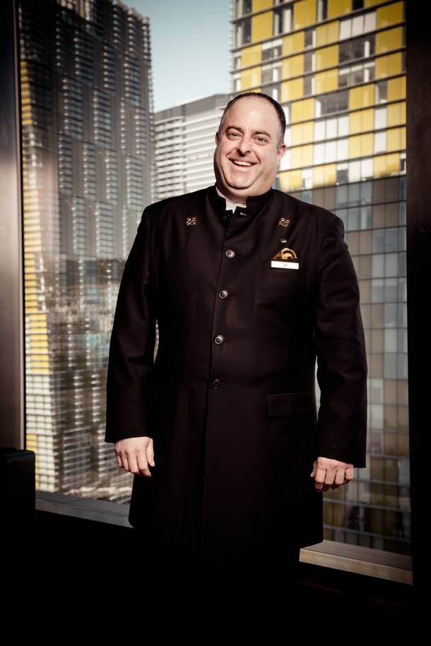 Service worth following: Mandarin Oriental concierge Joe Moracco has worked at many Strip casinos, and guests from past jobs continue to work with him.