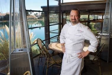 The acclaimed chef is working his magic as consulting chef at Marche Bacchus.
