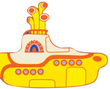 Once again, we all live in a yellow submarine.