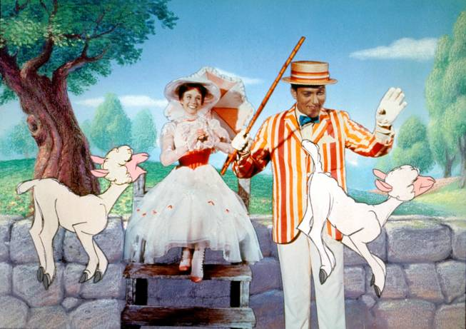 "Green Valley High School is the first nonprofessional organization to stage the Broadway musical ""Mary Poppins,"" which was based on the book series and Disney film (pictured) of the same name."