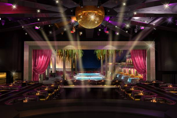 A rendering of Drai's Nightclub, slated to open Memorial Day Weekend at the Cromwell.
