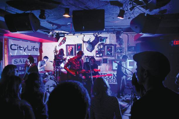 Reverb-erating: A Crowd of Small Adventures plays the old Bunkhouse during Neon Reverb.