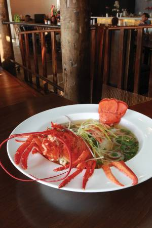 Bet you haven't had lobster <em>pho</em> before.