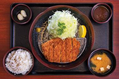 This new Japanese eatery in the southwest is all about the deep-fried pig.