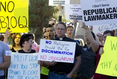 The fate of the controversial, anti-gay legislation will be decided this week.
