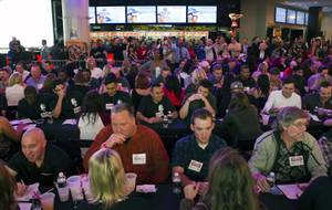 Hundreds turned out to help the D break the record for the largest speed-dating event—Well, that and to maybe find a date.