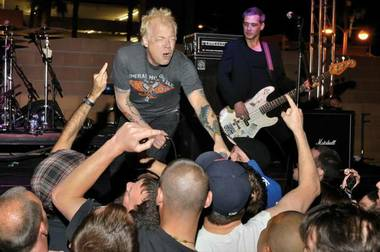 All, shown here during a late-night Punk Rock Bowling show in 2012, returns for a PRB club show in May.
