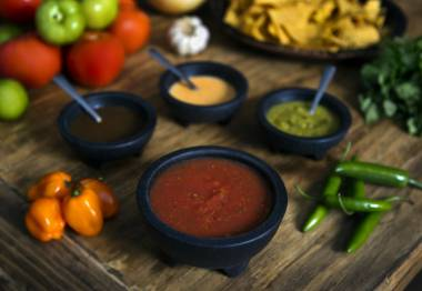 Frank & Fina's salsa is highly addictive.