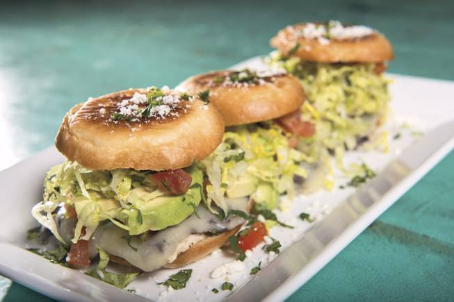 Chicken tortas are on the Restaurant Week menu at the Hard Rock Hotel's Pink Taco.