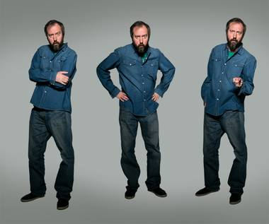 Tom Green plays Vinyl this weekend.