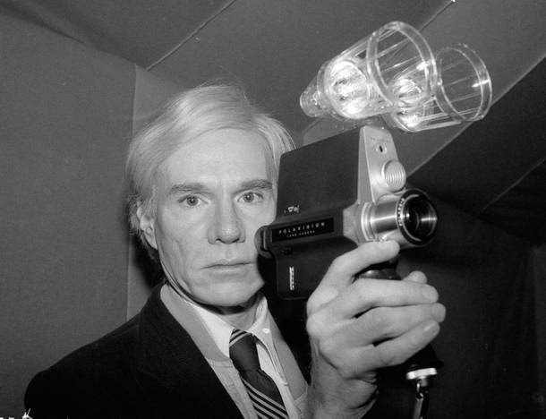 Andy Warhol was one of many artists who used Polaroid cameras.