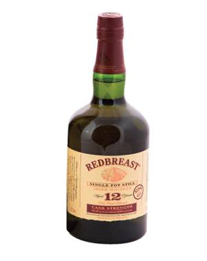 Heaven in a bottle: Redbreast 12 Year Old Irish whiskey.