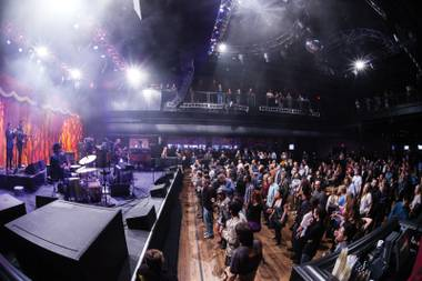 Soulive guitarist Eric Krasno went so far as to call the new spot at the Linq the best venue he'd ever played.