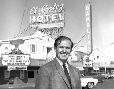 "Hundreds gathered on Monday to mourn the late gaming pioneer, the ""patron saint"" of Downtown veteran El Cortez."