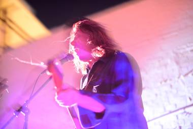 Ty Segall, performing Thursday night at Beauty Bar.