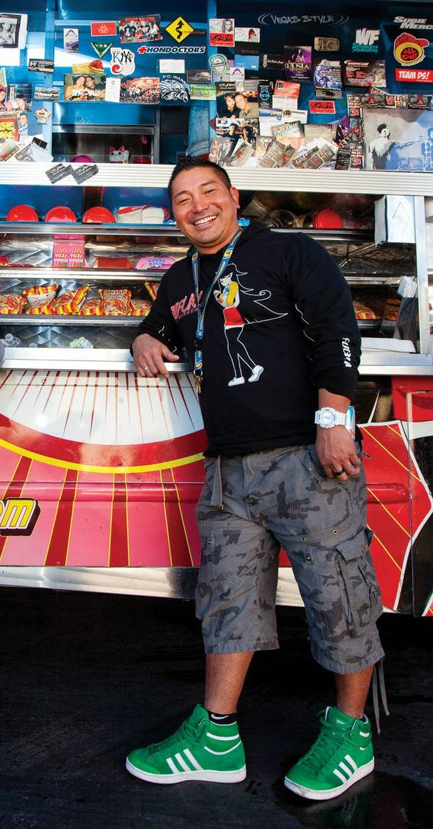 Colin Fukunaga and his food truck crew launched Fukuburger in 2010.