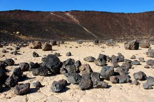 Ready to rock: Amboy Crater offers an unusual hike.