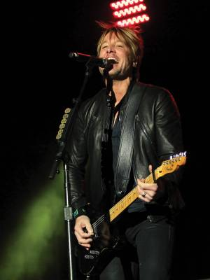 Keith Urban headlined Party for a Cause at Linq on April 5.