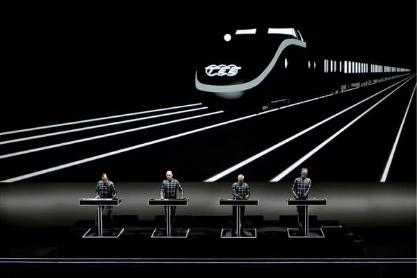Electronic music veterans Kraftwerk will bring a 3D experience to the Chelsea at Cosmopolitan in June.
