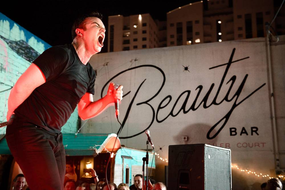 Future Islands is weird, wonderful at Beauty Bar - Las Vegas