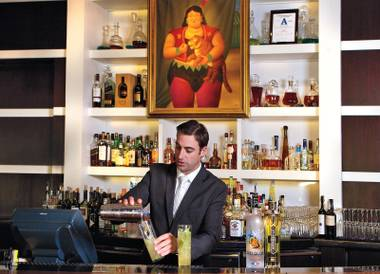 The property's new mixologist walks the line between geeking out and pleasing the people.