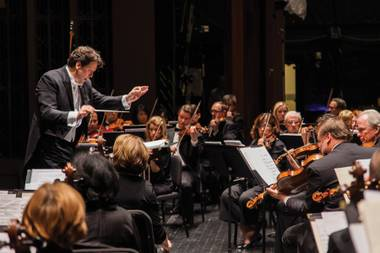 Donato Cabrera, the current resident conductor of the San Francisco Symphony who grew up in Las Vegas and Reno, will conduct the Las Vegas Philharmonic.